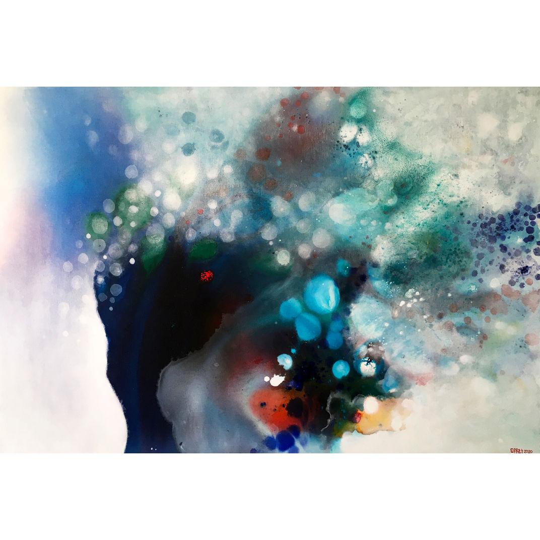 Misty dream by Effat Pourhasani