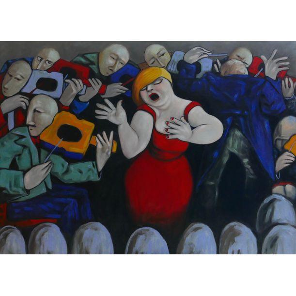 Opera singer by Ta Thimkaeo