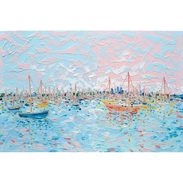 St Kilda Marina 3 by Joseph Villanueva