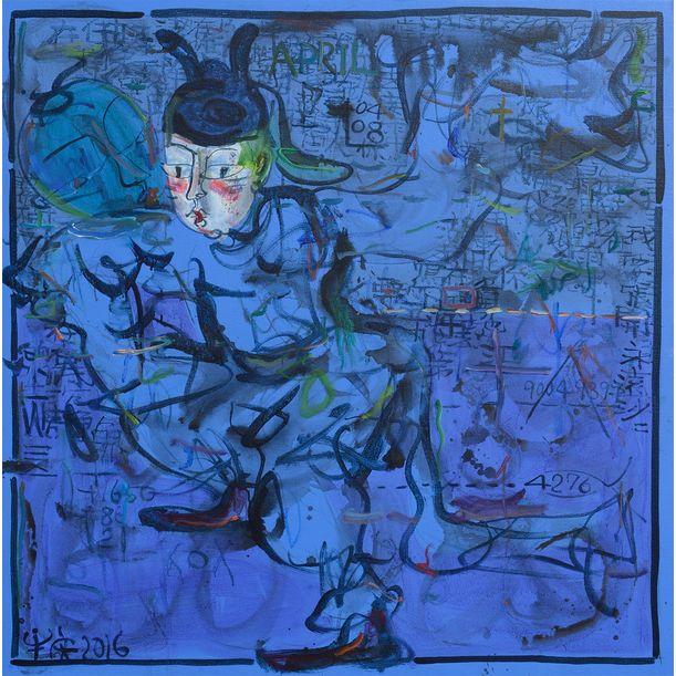 Tang's - Husband - Blue by Ann Niu