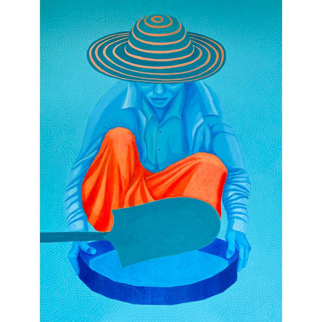 blue lady by Epp Jääger