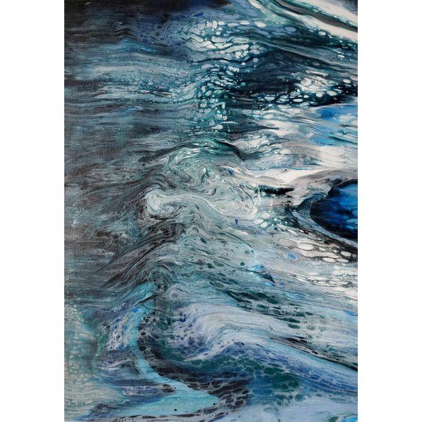 Blue sea by Larisa Siverina