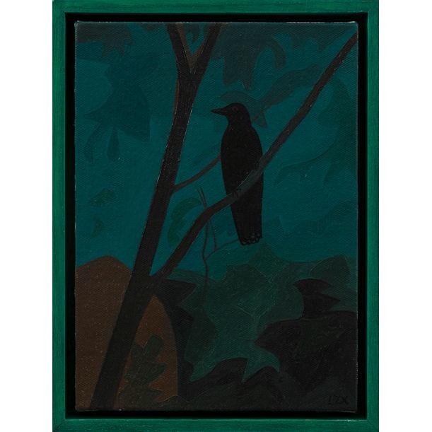 A Bird 有鸟 by Lan Zhaoxing  兰昭形