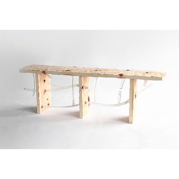 Knot bench by Sho Ota
