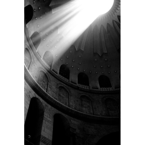 Good Friday in the Church of the Holy Sepulcher by Tal Paz-Fridman