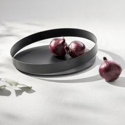 Orbis tray -Black-30cm (L) by Beyond Object