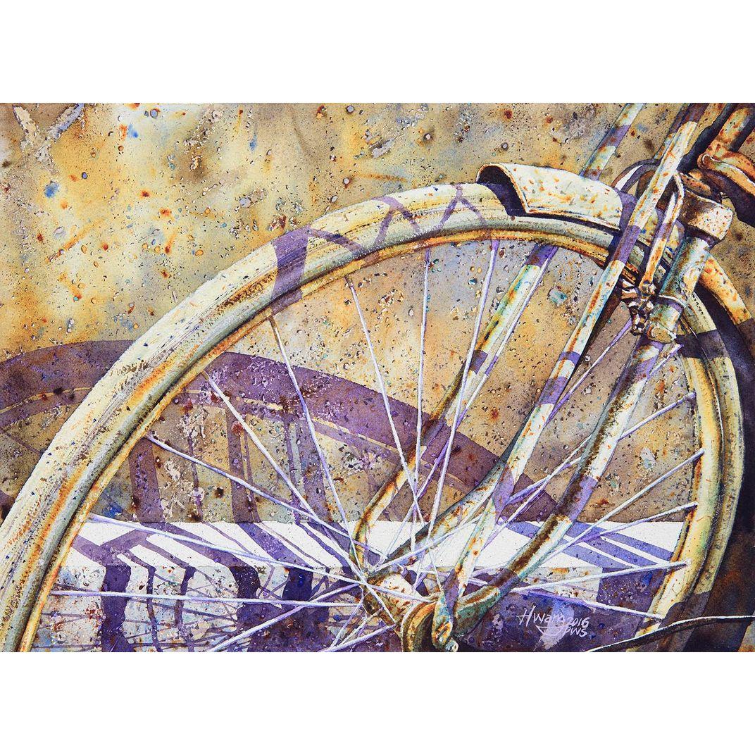Wheels No 7 by Lok Kerk Hwang (骆克璜)