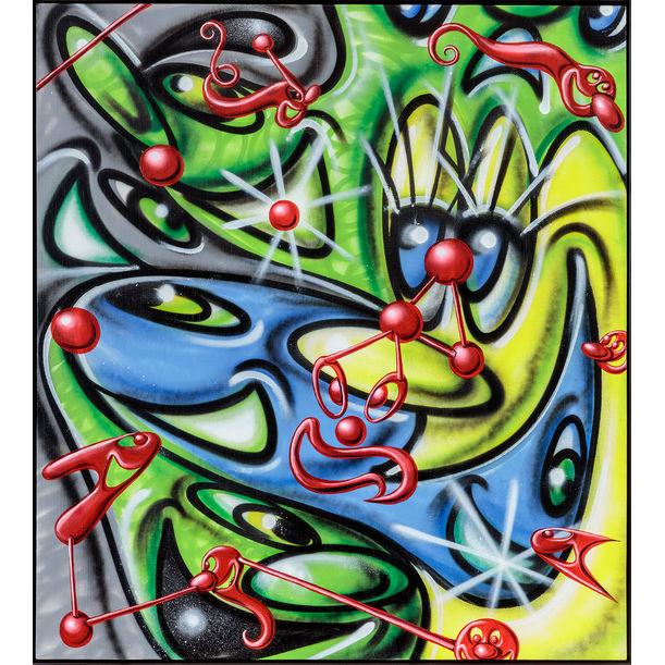 Microlentz by Kenny Scharf