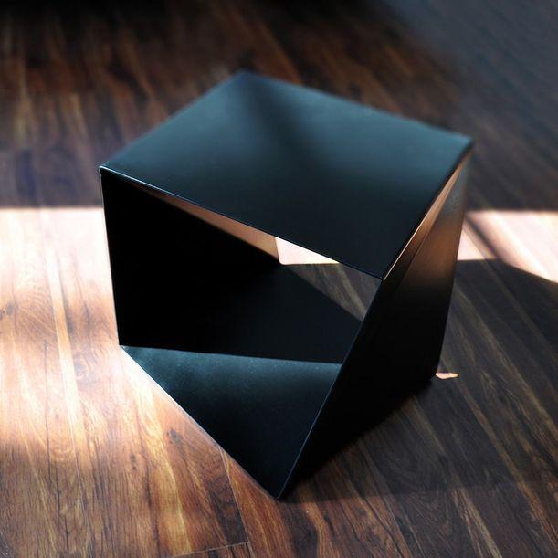 Twisted Edge Table by Tarek ElKassouf