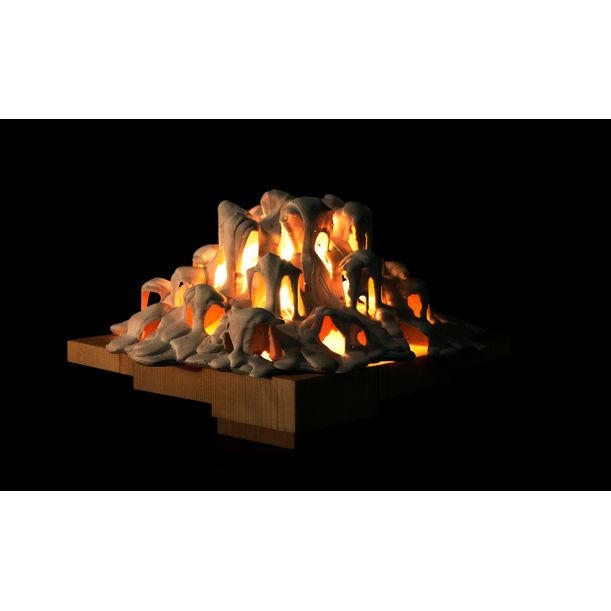 Fluid Lamp by Wu Kai Xun