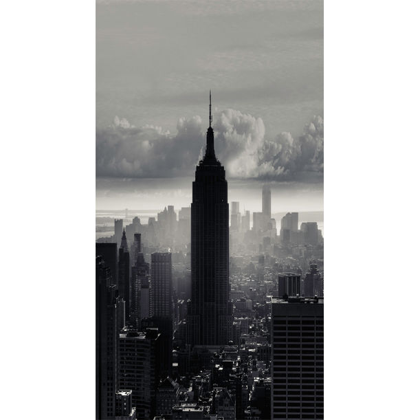 NYC Skyline - Visus Symphony - Dark Empire by Allan Borebor