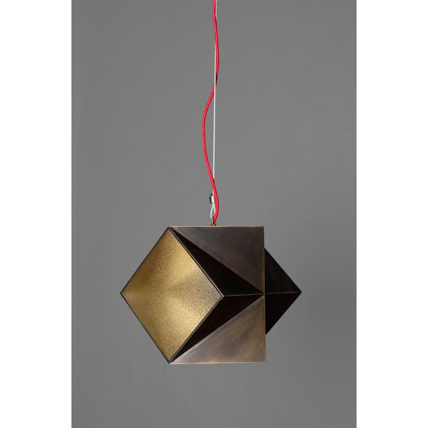 Brass Edge Lamp by Tarek ElKassouf