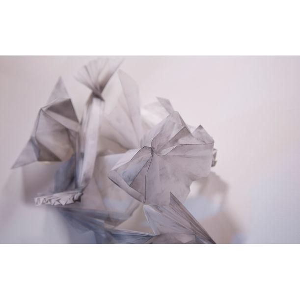 Folding Traces_Memories by Jang Jieun