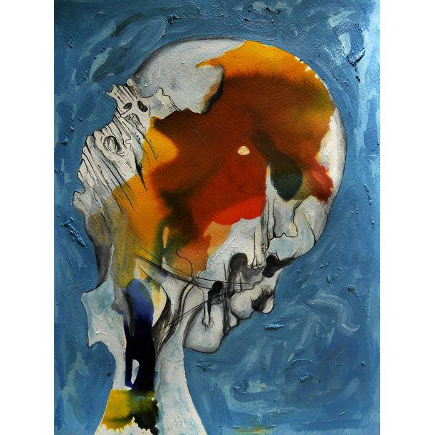 Woman's Head by Mike Garcia