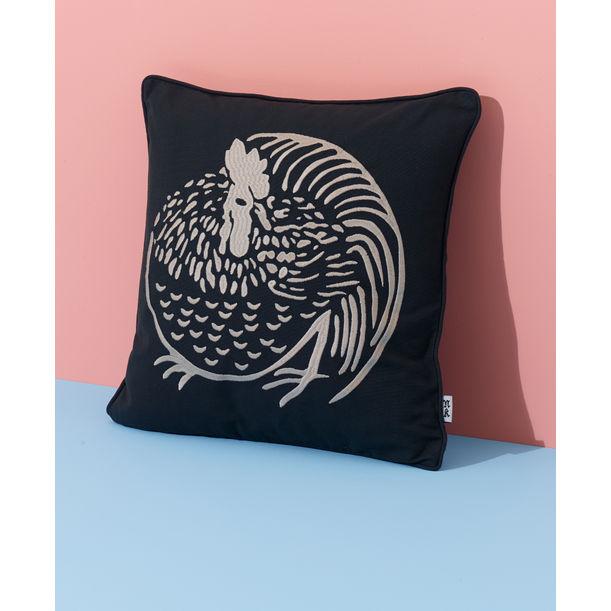 Chicken Cushion by Nazanin Kamali