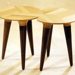 Amoeba Tables by DAMJ Design + Craft
