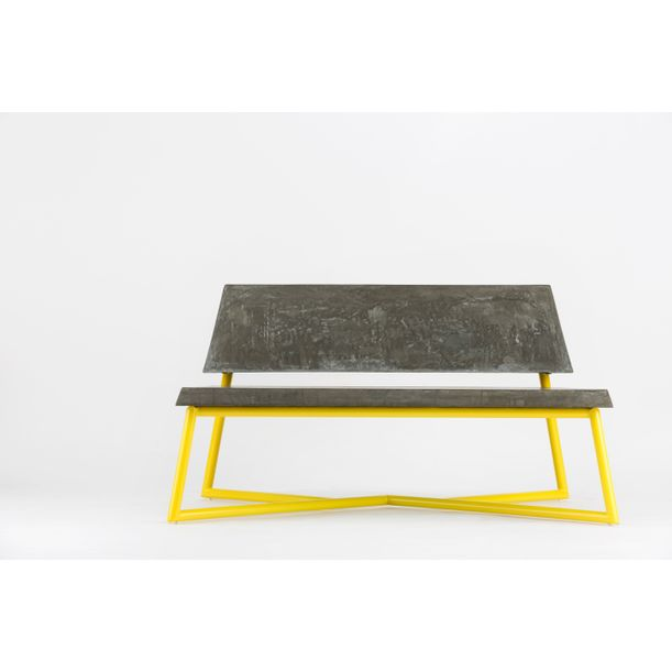One Ton bench by George Soo