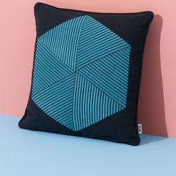 Hexagon Cushion by Nazanin Kamali