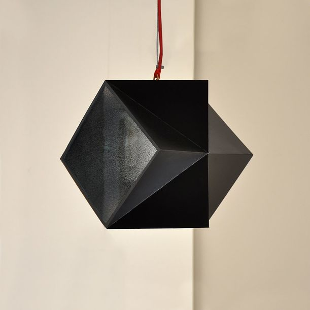 Folded Edge Lamp by Tarek ElKassouf