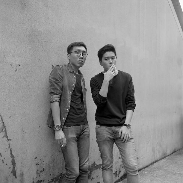 Wejie and Edmund by Sean Lee
