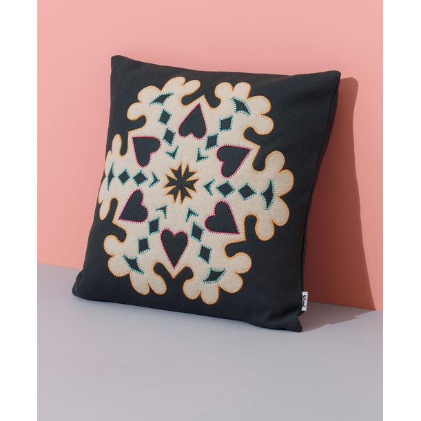 Snowflake Cushion by Nazanin Kamali