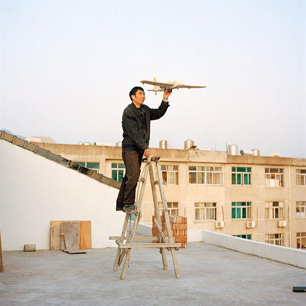 Aeronautics in the backyard #1 by Xiaoxiao Xu