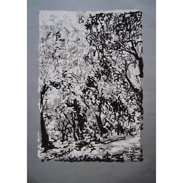 Grey Forest by Asli Akyuz