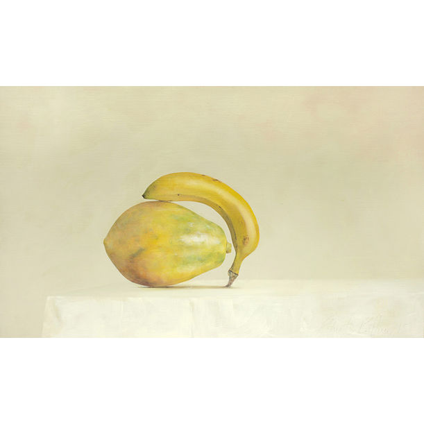 Papaya + Banana by Ahmad Zakii Anwar