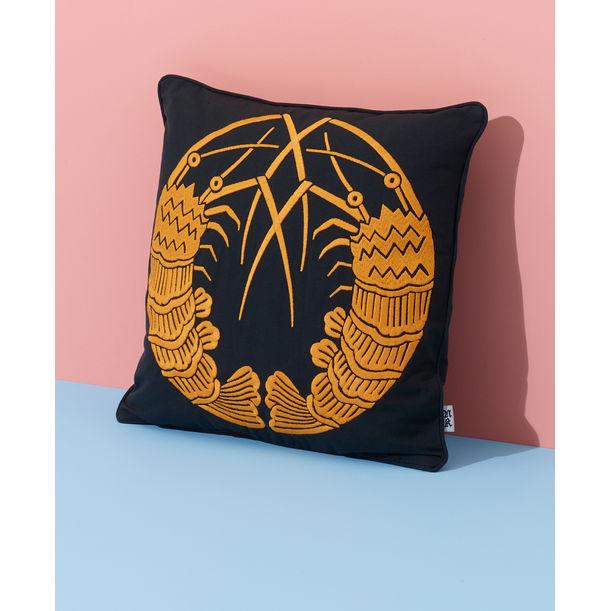 Shrimps Cushion by Nazanin Kamali