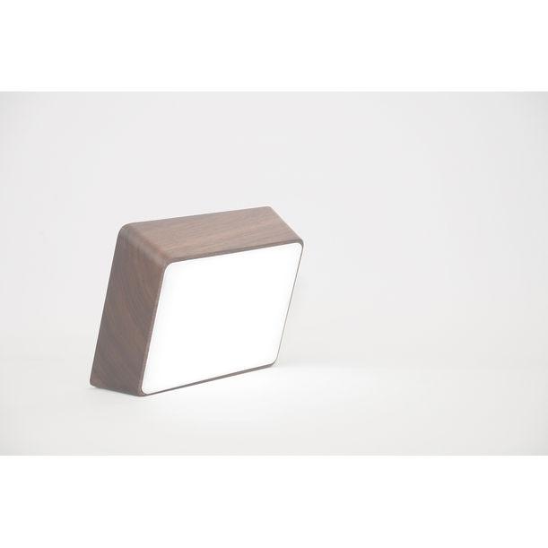 Brick Lamp - Walnut by Hyfen / HCWD Studio