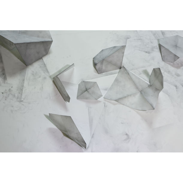 Folding Trace_Pieces of Memories 1 by Jang Jieun