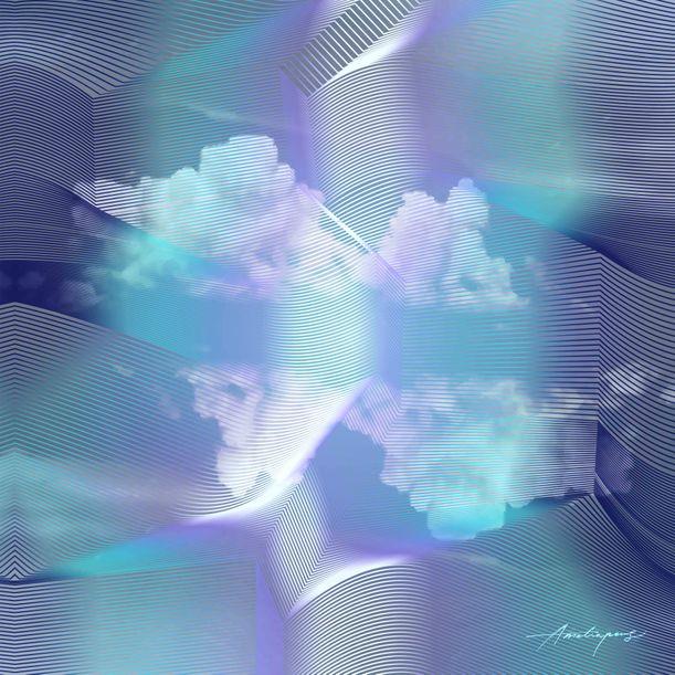 illusion cloud_azure by Amelia Peng