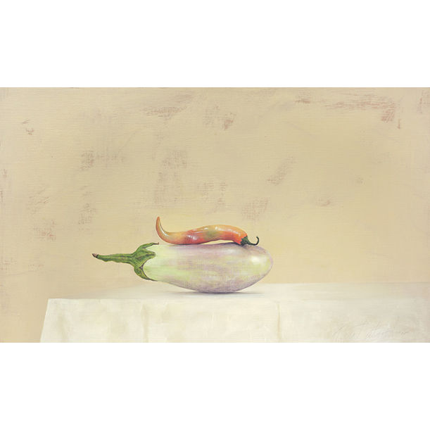 Brinjal + Chilli by Ahmad Zakii Anwar