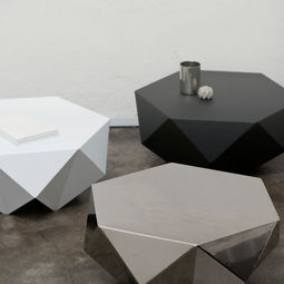 Monolith: Lounge Side Table by Desinere