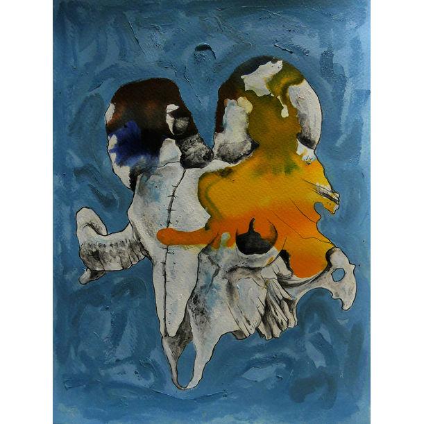 Ram skull by Mike Garcia