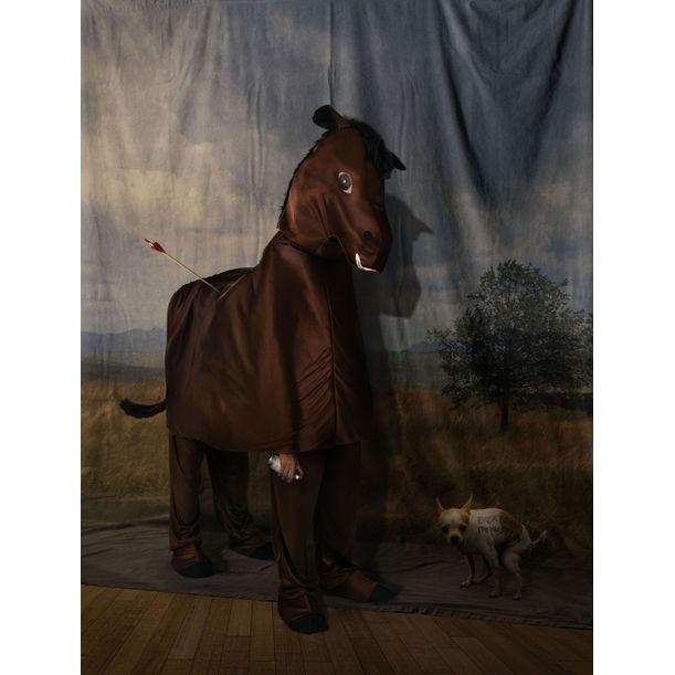 Kuda dan Pemandangan by Agan Harahap