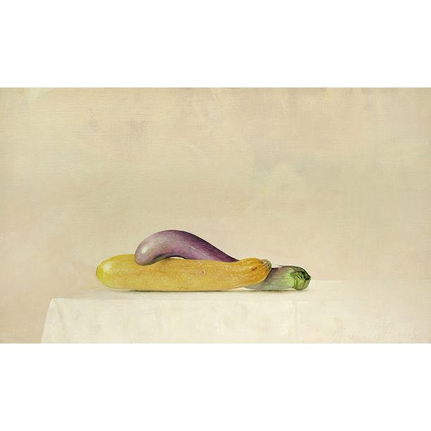 Brinjal + Zucchini by Ahmad Zakii Anwar