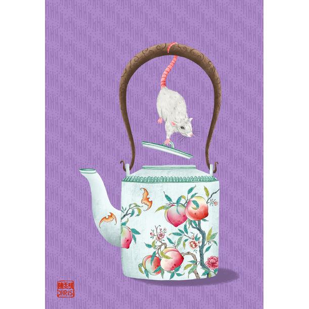 Teapot of Prosperity by Chris Chun