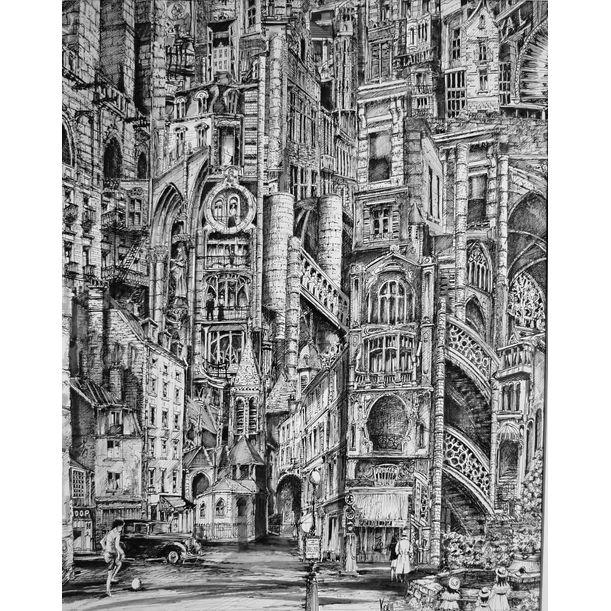 Urban Landscape 1 by Koen De Weerdt