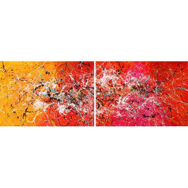 Painting Mirror Diptych! by Caroline Vis