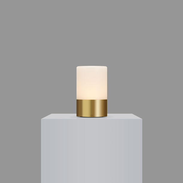 Voltra Totem - Frosted - Natural Brass by Voltra