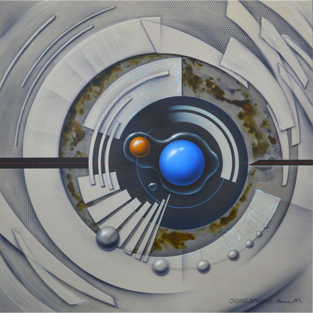 Cosmic Diagram 4 by Kazuaki Maitani
