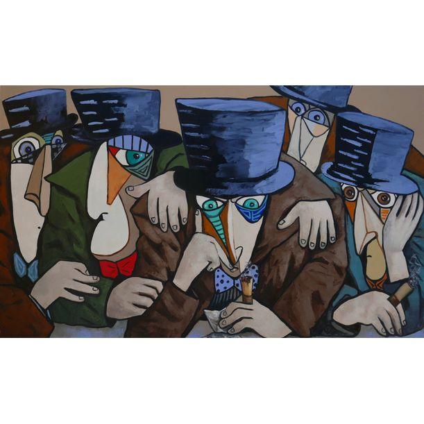 Conspirators conspiring by Ta Thimkaeo