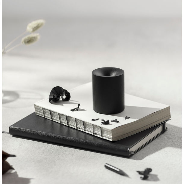 FUNNO -Pencil Sharpener& Paper Weight-Black by Beyond Object
