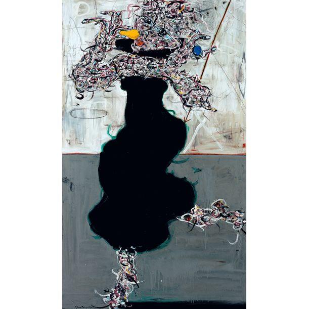 Gray Concrete Triptych - R by Ann Niu