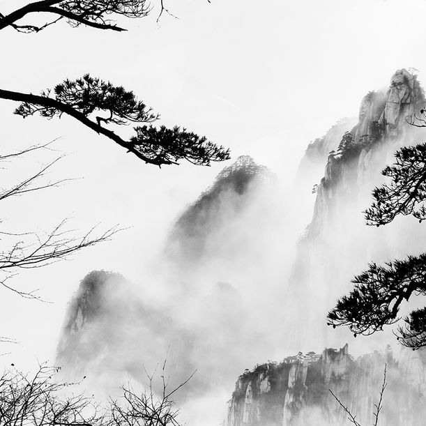Huangshan study by Alexandre Manuel