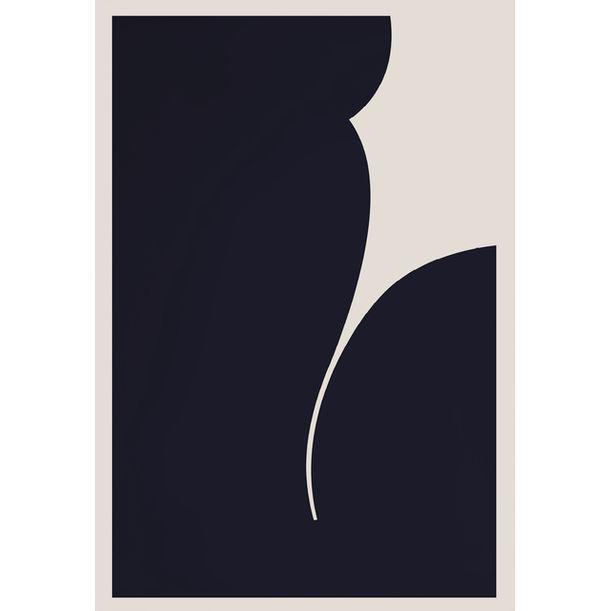 Body Language IV (Midnight Blue) by Caroline Walls