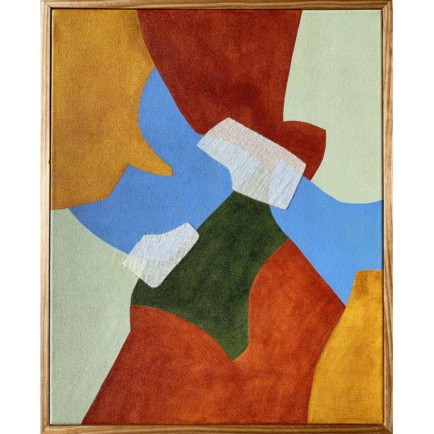 Dastar Patchwork No. 1 by Ayse Sirin BUDAK