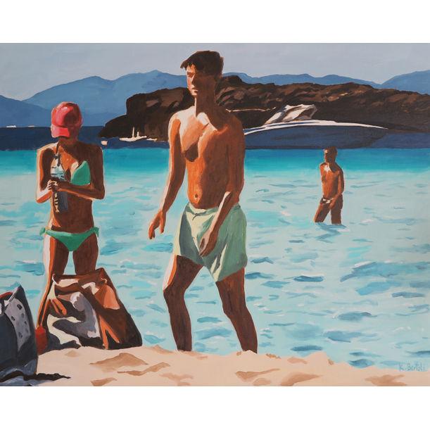 Baigneurs Formentera by Karine Bartoli