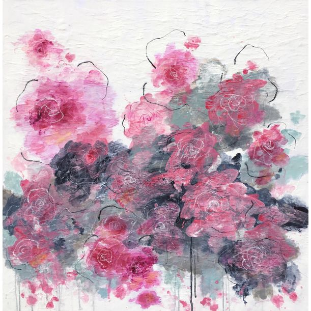 Cherry Blossom Love III by Angelika Millmaker